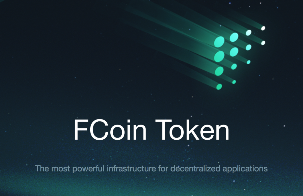 Fcoinトークン