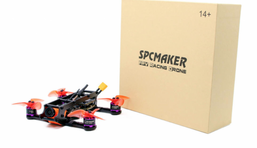 SPCMakerK2 110mm FPV RacingがRumcam搭載でFHD可能!