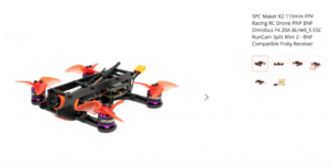 SPCMakerK2 110mm FPV Racing