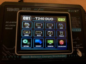 HTRC T240 DUO AC 150W DC 240W 10A Touch Screen Dual Channel Battery Balance Charger Discharger