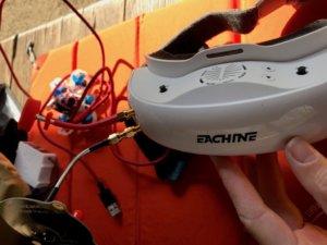 Eachine EV200D 1280*720 5.8G 72CH True Diversity FPV Goggles