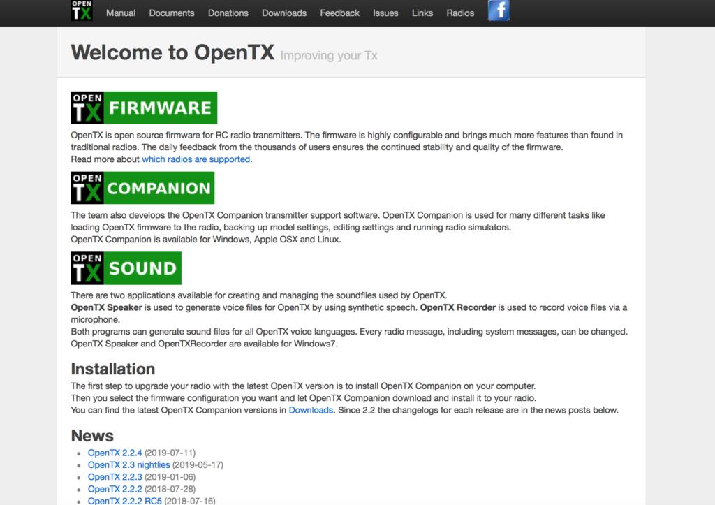 openTX