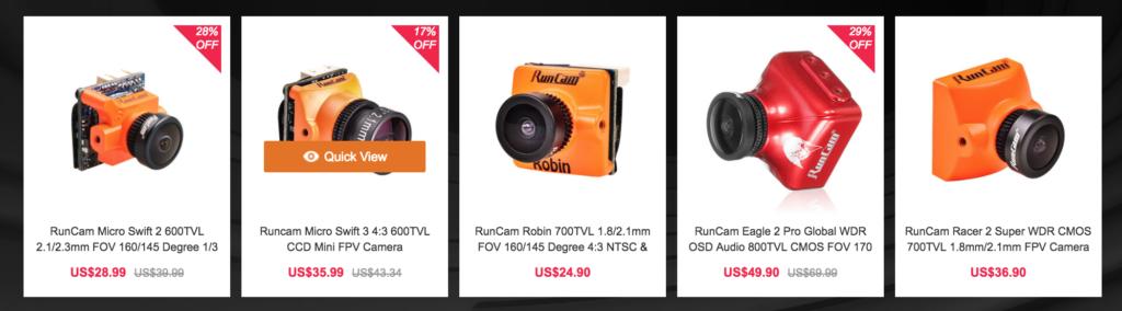 Runcam FPV Camera (Code:15BCD)