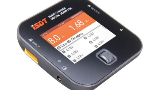 2S-6Sのリポバッテリー充電器「ISDT Q6 Lite 200W 8A MINI Pocket Battery Balance Charger」