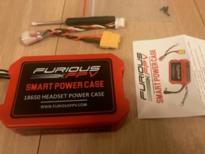 FuriousFPV Smart Power Case FPV-0384-S For 18650 Rechargeable Batteries