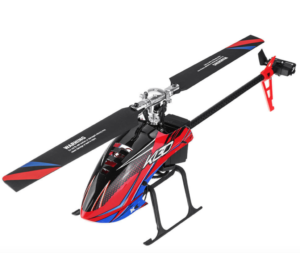 XK K130 2.4G 6CH 3D6G System Flybarless Brushless RC Helicopter Compatible FUTABA S-FHSS - BNF