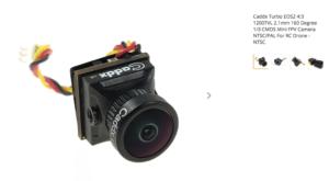 Caddx Turbo EOS2 4:3 1200TVL 2.1mm 160 Degree 1/3 CMOS Mini FPV Camera NTSC/PAL For RC Drone - NTSC