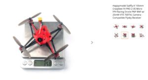 Happymodel Sailfly-X 105mm Crazybee F4 PRO 2-3S Micro FPV Racing Drone