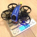 【SPC Maker Mini Whale HD 78mm Micro F4 Cinewhoop】が届きました!面白そうな機体です。