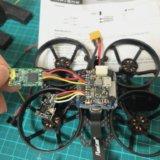 【SPC Maker Mini Whale HD 78mm】ブザー取付け、VTX・Receiver交換、FC設定!