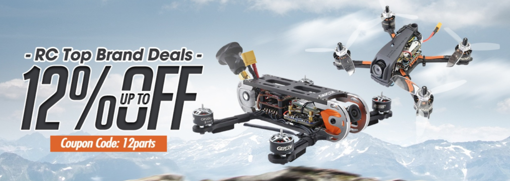 【Banggoodセール情報】RC Top Brand Deals Up to 12% Off!