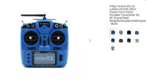 FrSky Taranis X9 Lite 2.4GHz ACCESS 24CH Classic Form Factor Portable Transmitter