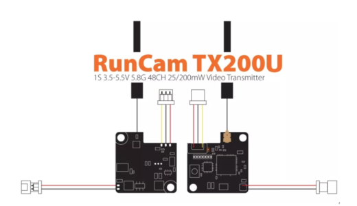 VTX利用時の配線図(Runcam TX200U編)他のVTX配線にも流用可能!