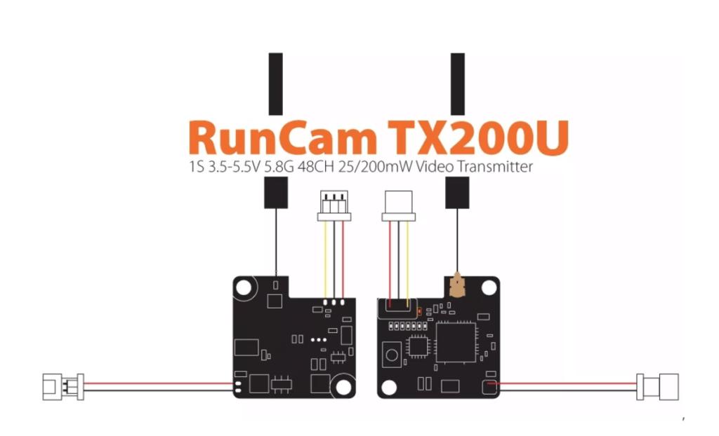 Runcam TX200U配線