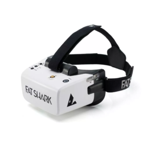 FatShark Scout 4 Inch 1136x640 NTSC/PAL Auto Selecting Display FPV Goggles Video Headset Bulit-in Battery DVR