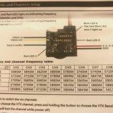 【これから始めるマイクロドローン⑨】OSD画面の設定説明とVTXの周波数変更!