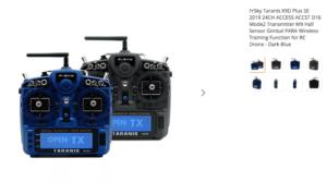 FrSky Taranis X9D Plus SE 2019 24CH ACCESS ACCST D16 Mode2 Transmitter M9 Hall Sensor Gimbal PARA Wireless Training Function