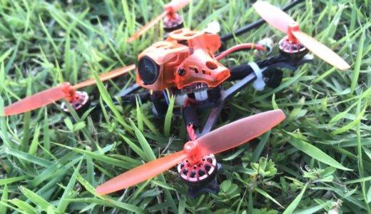 【Eachine RedDevil 105mm】テストフライト!やっぱり軽くて良く飛びます♪