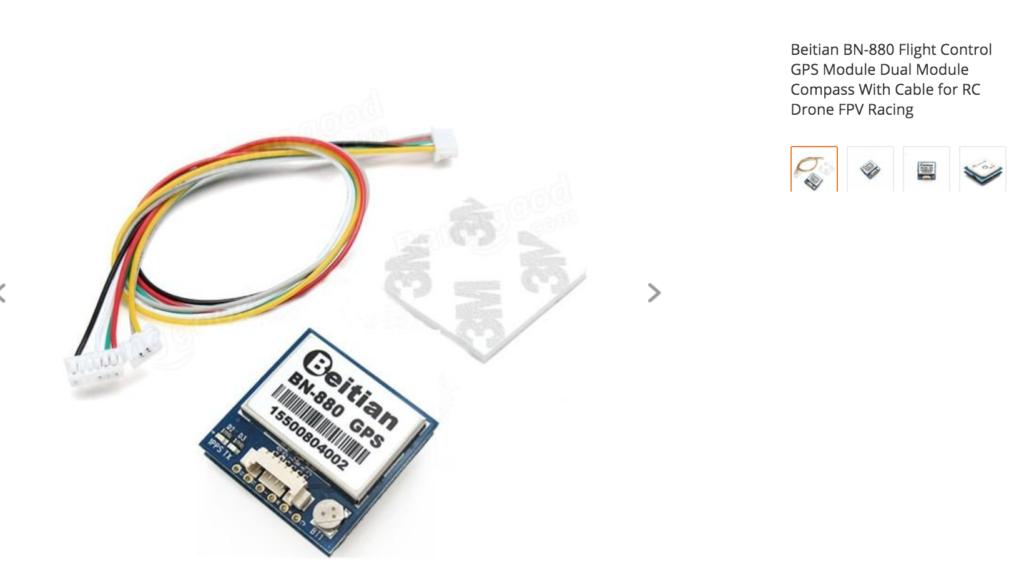 Beitian BN-880 Flight Control GPS Module Dual Module Compass