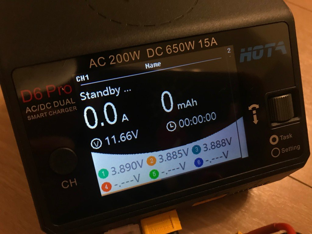 HOTA D6 Pro AC 200W DC 650W 15A Charger With Wireless Charging