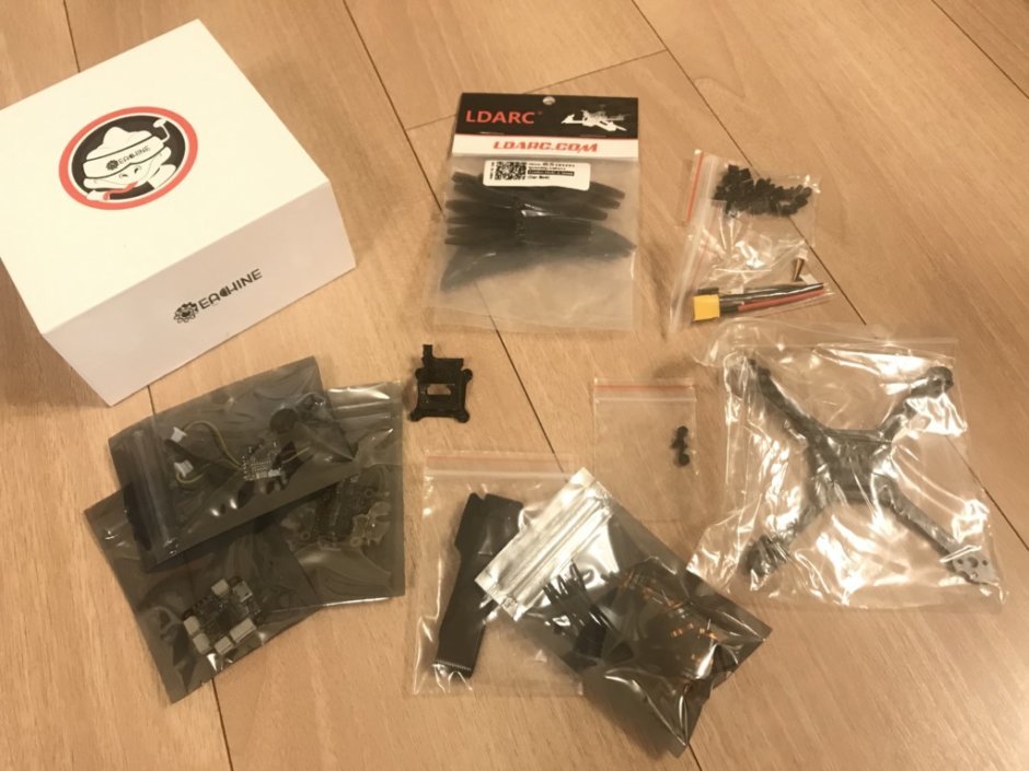 Eachine Tyro69 105mm F4 OSD 2.5 Inch 2-3S DIY FPV Racing Drone