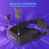 単眼FPVゴーグル「Eachine EV800DM Varifocal 5.8G 」をレビュー!