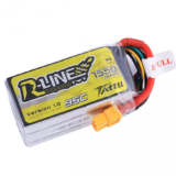 Tattu R-Line Version 1.0 14.8V 1550mAh 95C 4S XT60 Plug Lipo Battery