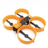 "Donut"" 3 Inch 140mm H-type Frame Kit 3D Printed + Carbon Fiber for RC Drone FPV Racing 75.5g"