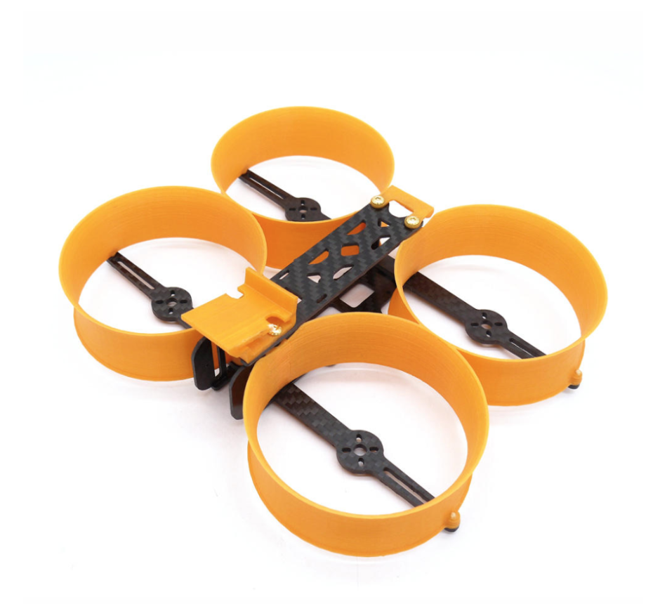 """Donut"""" 3 Inch 140mm H-type Frame Kit 3D Printed + Carbon Fiber for RC Drone FPV Racing 75.5g"""