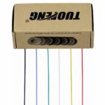 30ゲージ 電気ワイヤー、着色ワイヤーキット柔軟なシリコンワイヤー(6種類の異なる色の20メートルのスプール)