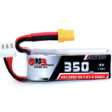 Gaoneng GNB 2S 7.6V 350mAh HV 4.35V 50C/100C Lipo Battery XT30 Plug for Beta75X RC Drone FPV Racing
