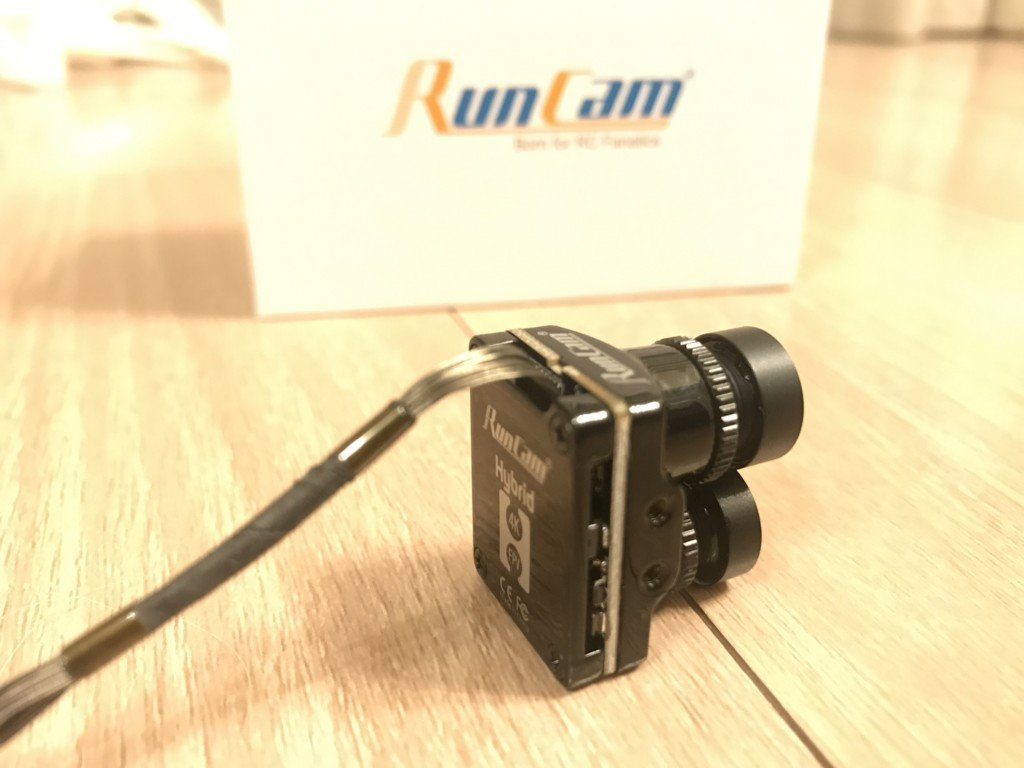 RunCam Hybrid 4K 30fps FOV 145 Degree HD Recording DVR Dual Lens Mini FPV Camera Low Latency Single Board for RC Racing Drone