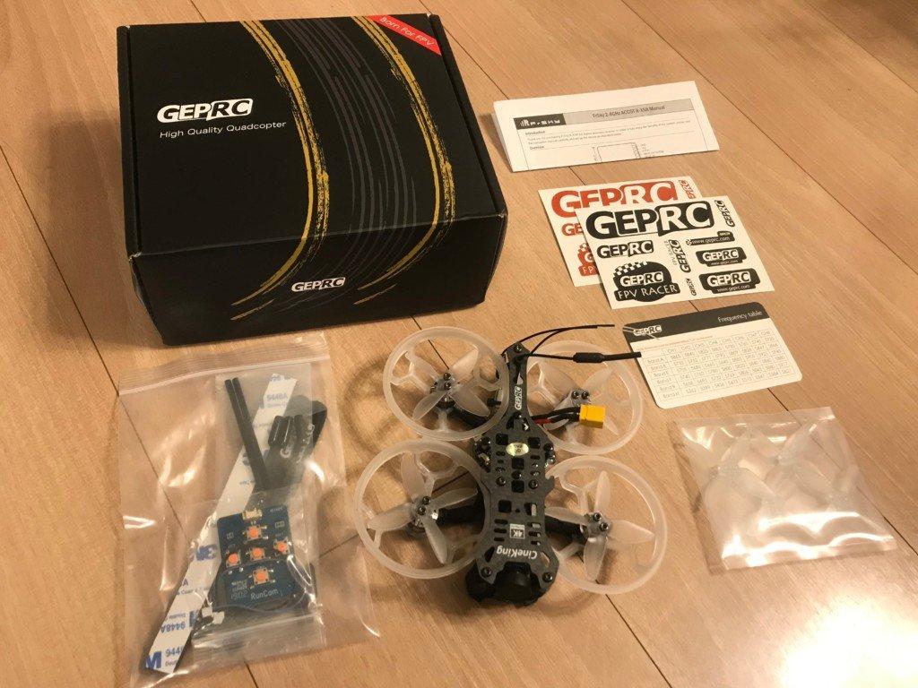 GEPRC CineKing 95mm 4S 2Inch 4K RunCam Hybrid 4K