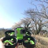 FPVドローンで桜を撮影!2020年度も無事に撮影出来ました!