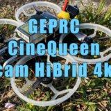 4kフープドローンGEPRC CineQueen 4K 3inch