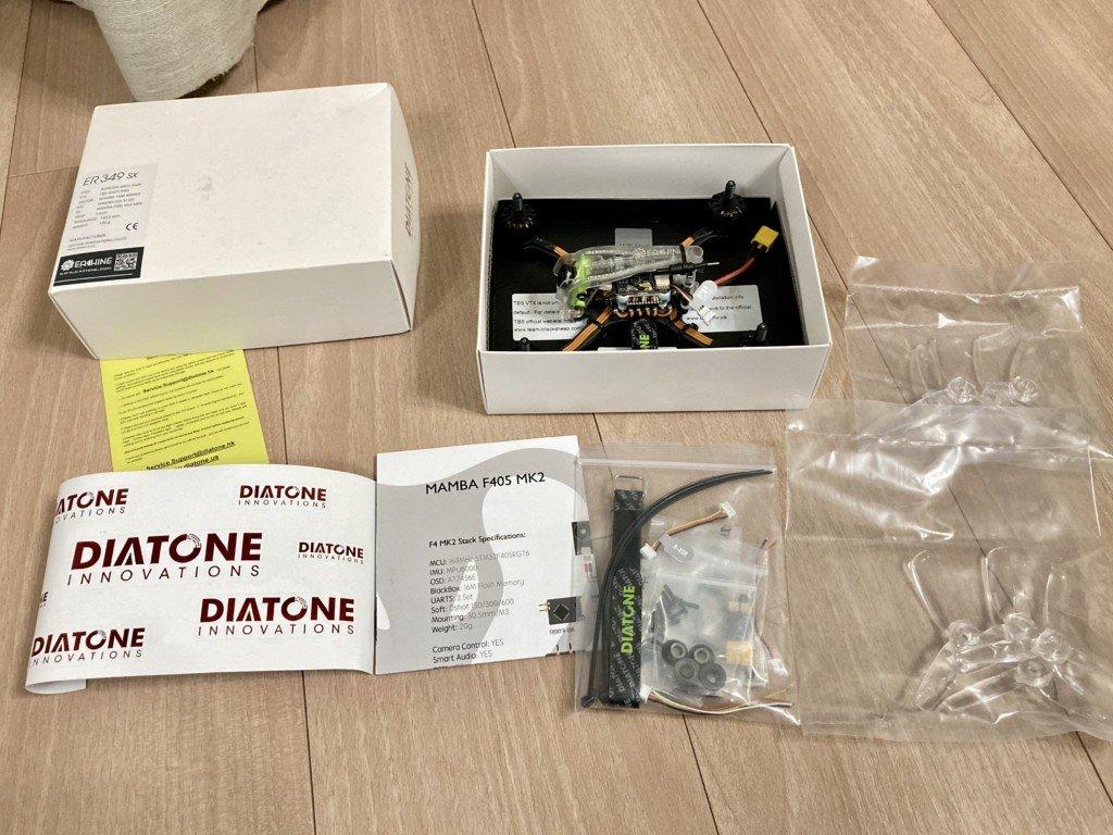 FPVドローン|Eachine&Diatone ER349