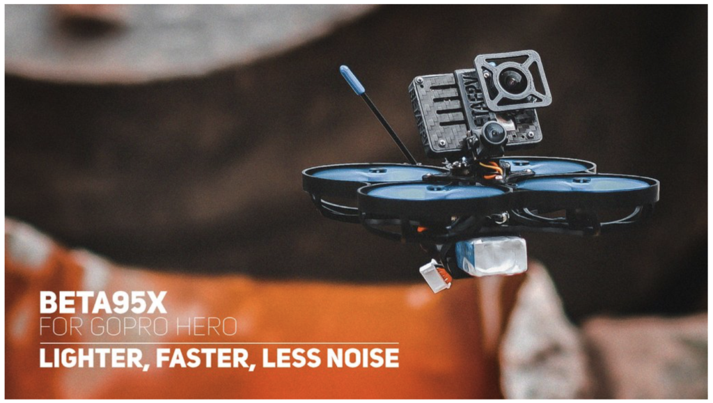 Beta95X Whoop Quad for GoPro Hero