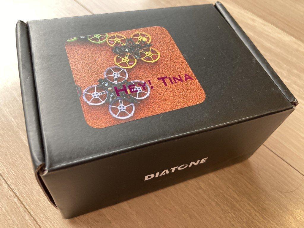 Diatone Hey Tina Whoop163 86mm Betaflight F4 2-3S Cinewhoop