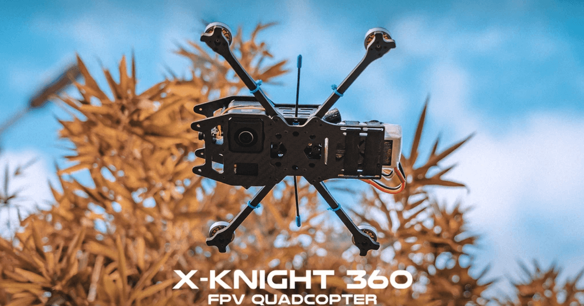 X-Knight 360 FPV Quadcopter