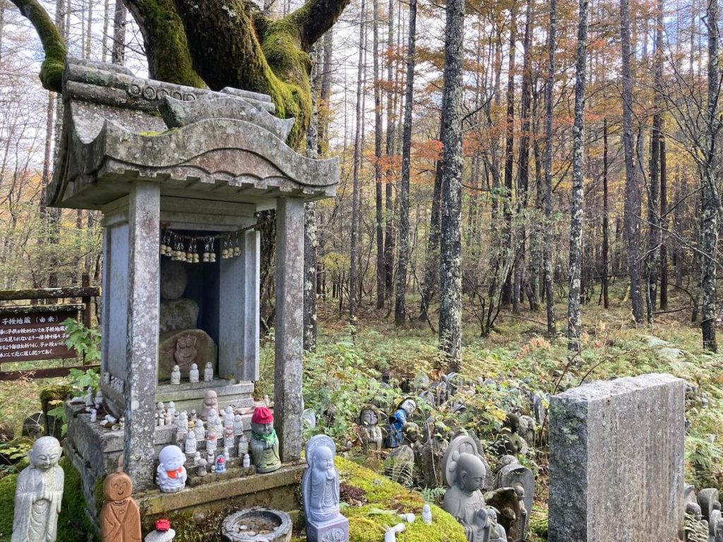 焼山峠の子授け地蔵
