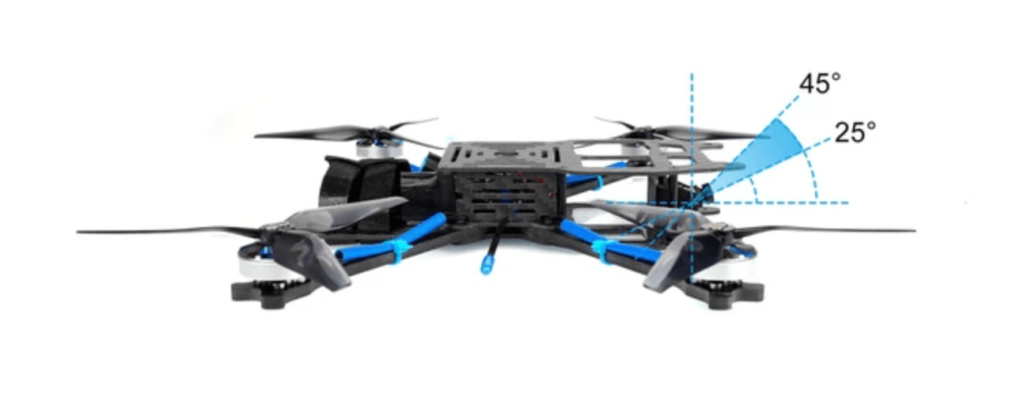 X-Knight 360 FPV Quadcopterの概要