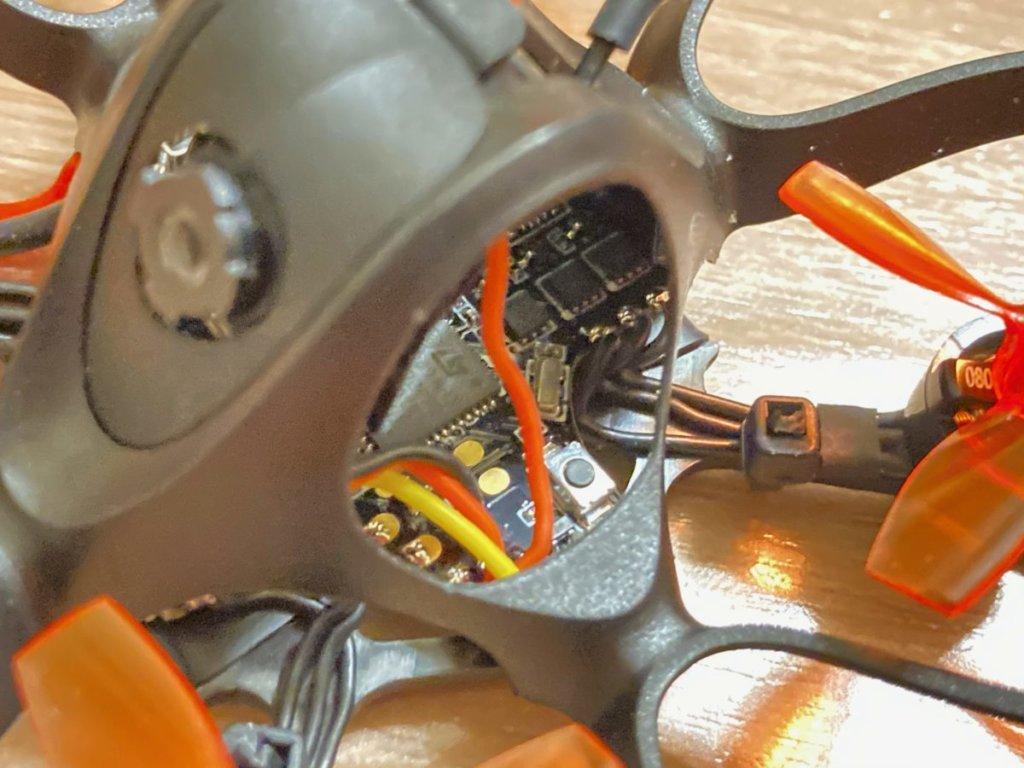 Emax Nanohawk 65mmのFCの配線